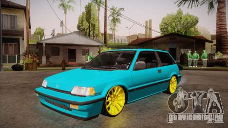 Honda Civic SI Hellaflush для GTA San Andreas
