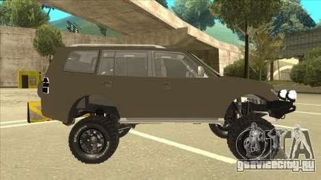 Mitsubishi Montero EDVARD [ERICK] для GTA San Andreas вид сзади слева
