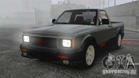 GMC Syclone 1992 для GTA 4