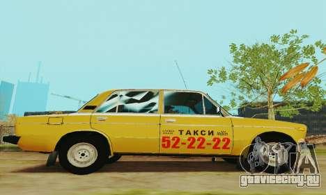 ВАЗ 2106 Такси для GTA San Andreas вид сзади