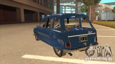 Citroën Ami 8 для GTA San Andreas вид сзади