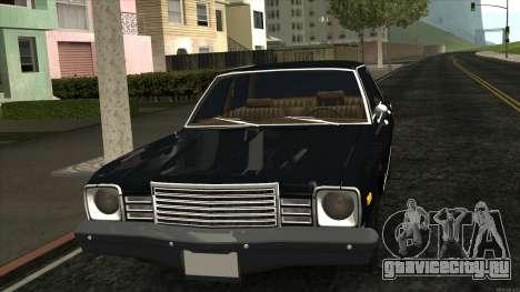 Ford Aspen 1979 для GTA San Andreas вид слева