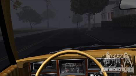 Ford Aspen 1979 для GTA San Andreas вид изнутри