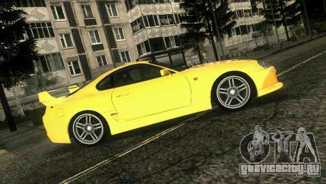 Toyota Supra TRD для GTA Vice City вид сзади