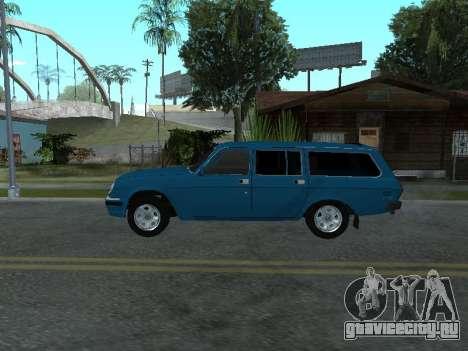 ГАЗ 311052 для GTA San Andreas вид сзади слева