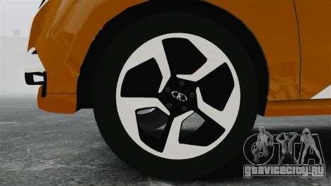 Lada XRay Concept для GTA 4 вид сзади