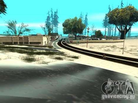 Зима v1 для GTA San Andreas одинадцатый скриншот