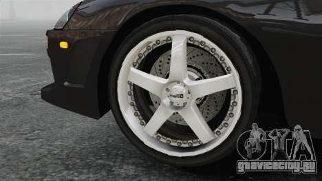 Toyota Supra для GTA 4 вид сзади