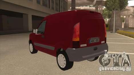 RENAULT KANGOO v1 для GTA San Andreas вид сзади