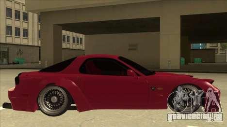 Mazda RX7 FD3S Rocket Bunny для GTA San Andreas вид сзади слева