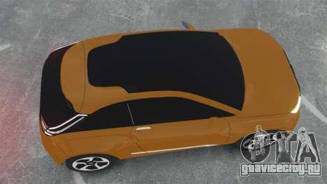 Lada XRay Concept для GTA 4 вид справа