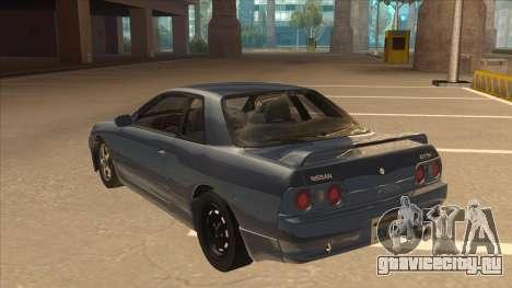 Nissan Skyline GT-S32 Drifter Edition для GTA San Andreas вид сзади