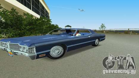 Mercury Monterey 1972 для GTA Vice City вид слева