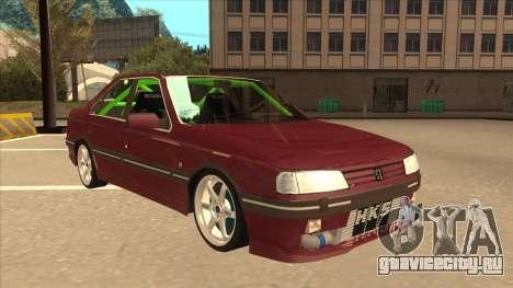 Peugeot 405 ami16 X4 для GTA San Andreas вид слева