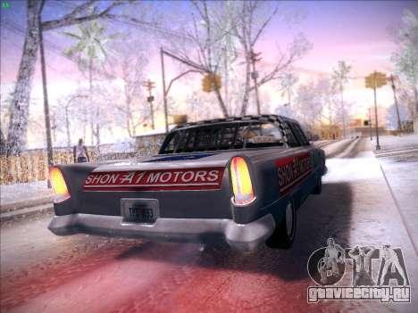 HD Bloodring Banger для GTA San Andreas вид сверху