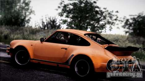 Porsche 911 Turbo 3.3 Coupe 1982 для GTA San Andreas вид сверху