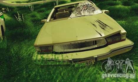 Buick Roadmaster Разбитый для GTA San Andreas вид слева