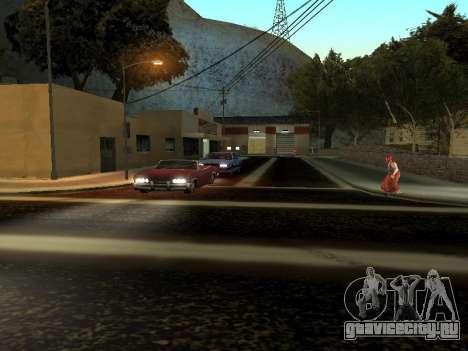 Зима v1 для GTA San Andreas шестой скриншот