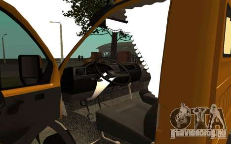 ГАЗель 33022 Бизнес для GTA San Andreas вид сзади