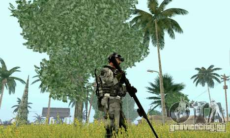 Barrett M82 из Battlefield 4 для GTA San Andreas третий скриншот