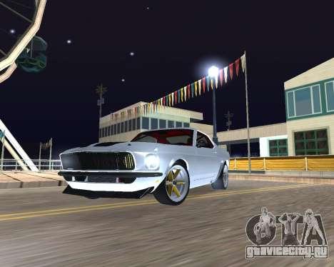 Ford Mustang Anvil для GTA San Andreas вид слева