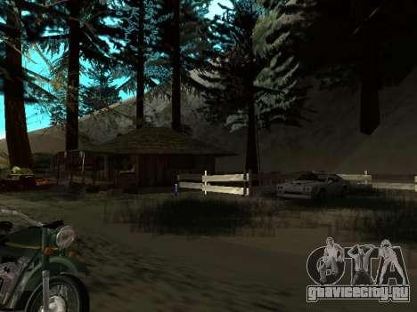 Зима v1 для GTA San Andreas девятый скриншот