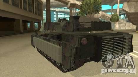 M69A2 Rhino Bosque для GTA San Andreas вид сзади