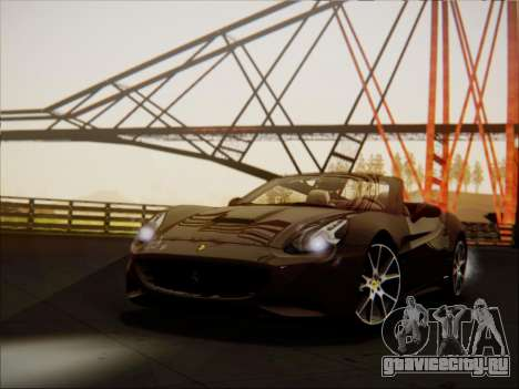Ferrari California 2009 для GTA San Andreas вид слева