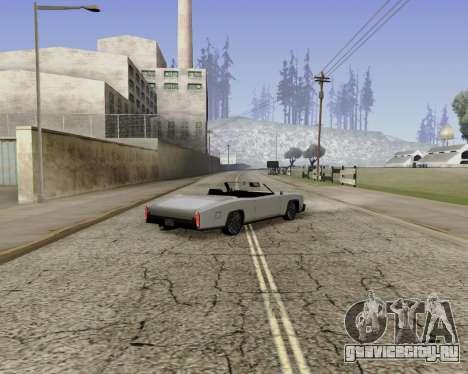 Buccaneer (beta) для GTA San Andreas вид слева