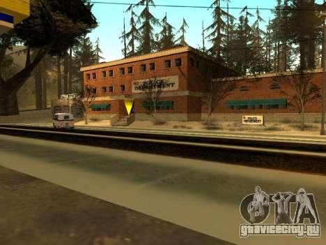 Зима v1 для GTA San Andreas седьмой скриншот
