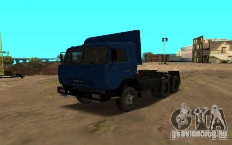 КамАЗ 54115 для GTA San Andreas вид сбоку
