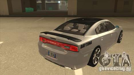 Dodge Charger RT Daytona 2011 V1.0 для GTA San Andreas вид справа