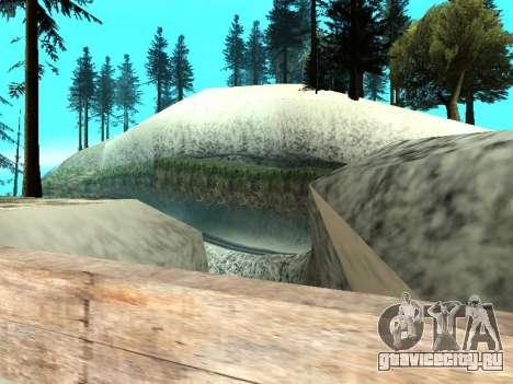 Зима v1 для GTA San Andreas двенадцатый скриншот