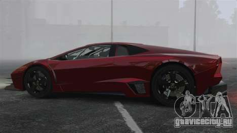 Lamborghini Reventon Body Kit Final для GTA 4 вид слева