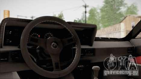 BMW M1 (E26) 1979 для GTA San Andreas двигатель