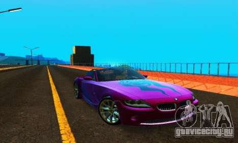 BMW Z4 2005 для GTA San Andreas