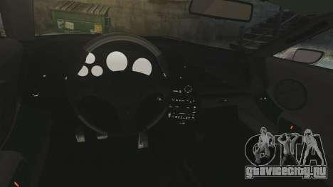 Toyota Supra для GTA 4 вид изнутри