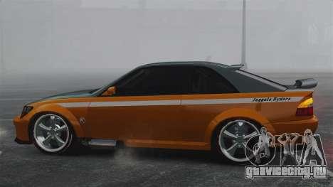 Sultan RS v2.5 для GTA 4 вид слева