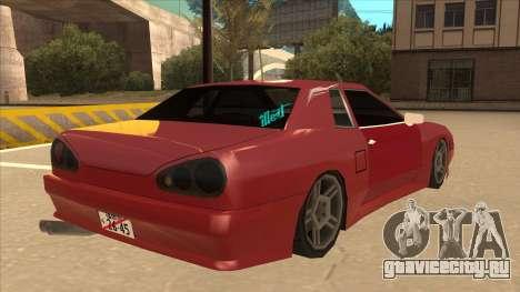 Elegy240sx Street JDM для GTA San Andreas вид справа