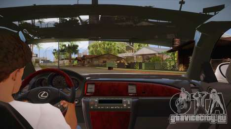 Lexus SC430 2JZ-GTE Black Revel для GTA San Andreas двигатель