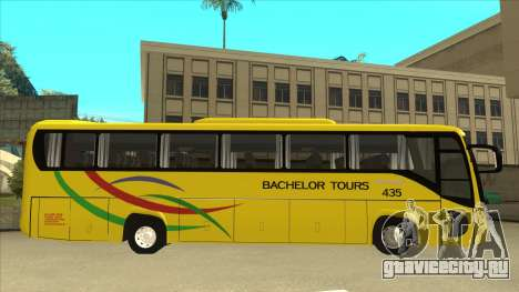 Kinglong XMQ6126Y - Bachelor Tours 435 для GTA San Andreas вид сзади слева