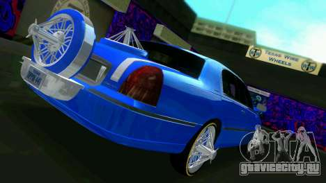Lincoln Town Car Tuning для GTA Vice City вид справа