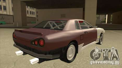 Elegy Drift Missile для GTA San Andreas вид справа