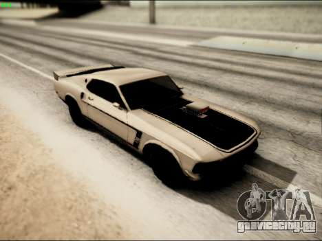 Ford Mustang Boss 302 1969 для GTA San Andreas