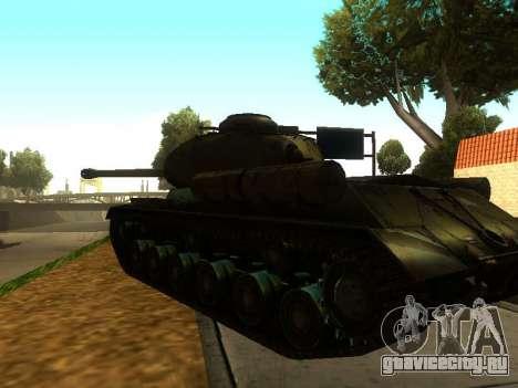 ИС-2 для GTA San Andreas вид справа