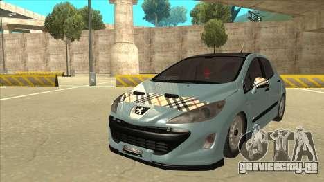 Peugeot 308 Burberry Edition для GTA San Andreas