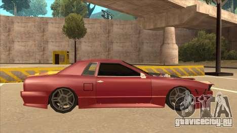 Elegy240sx Street JDM для GTA San Andreas вид сзади слева
