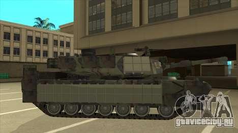 M69A2 Rhino Bosque для GTA San Andreas вид сзади слева