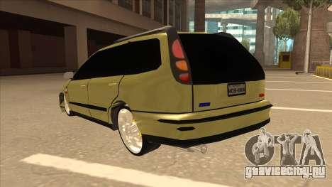 Fiat Marea Weekend для GTA San Andreas вид сзади