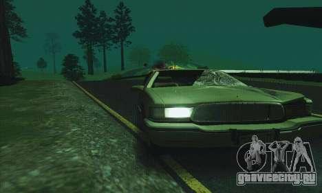 Buick Roadmaster Разбитый для GTA San Andreas вид сбоку